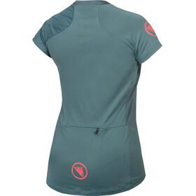 Endura SingleTrack Koszulka z krótkim rękawem Kobiety, petrol